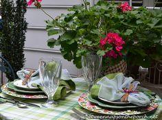 Enjoy Dining Outdoors for Summer | http://betweennapsontheporch.net/enjoy-dining-outdoors-for-summer/
