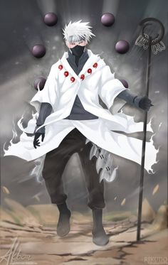 Hatake Kakashi, (Rikudo Mode) by ArgyraChersonese on DeviantArt