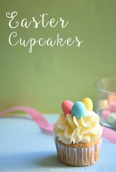 This Easter Cupcake recipe is so easy to do and enjoy! In fact, you will want to make these all year long.