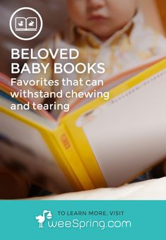 All the best board books for little babies (give 'em something to chew on). | www.weeSpring.com