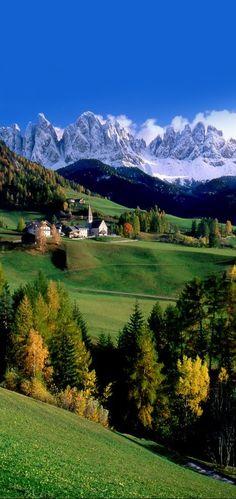 Val di Funes, Trentino-Alto Adige, Italy
