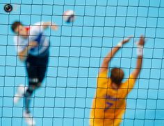 Britain plays Sweden in their men's handball Preliminaries Group A match at the Copper Box venue during the London 2012 Olympic Games. MARKO DJURICA/REUTERS