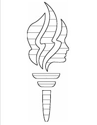 Image result for lds yw torch pattern