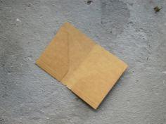 Kraft File Midori TRAVELER'S notebook Passport Size