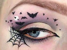 Bats & spider web