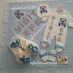 erkek bebek mevlüt kıyafeti - Google'da Ara Christmas Stockings, Onesies, Anne, Holiday Decor, Children, Gifts, Clothes, Google, Needlepoint Christmas Stockings