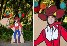 DIY cowboy cutout (free download at oh happy day)