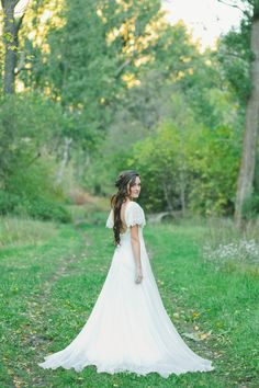 {LARKYN} by Chantel Lauren |  #chiffon #bohemian #weddingdress #wedding #bride #lace #chantellauren