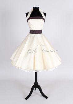 50er Jahre Petticoat Brautkleid Elisa von Atelier Belle Couture auf DaWanda.com