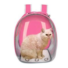 Breathable Pet Cat Carrier Bag Transparent Space Pets Backpack Capsule Bag for Cats Puppy Astronaut Travel Carry Handbag Outdoor Pet Travel Carrier, Pet Carrier Bag, Pet Bag, Cat Backpack, Dog Items, Small Dogs, Dog Cat, Puppies, Backpacks