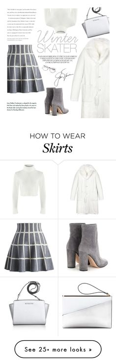 """""""Gri"""" by modernbovary on Polyvore featuring Marni, Jil Sander, Chicwish, Gianvito Rossi, Michael Kors, women's clothing, women, female, woman and misses"""