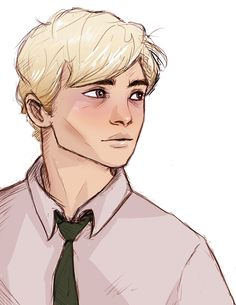 sad 6th year Draco :( the rest of my spark life illustrations! Found on lilabeanz on tumblr