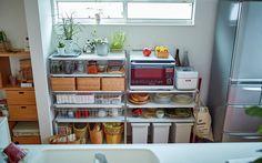 お部屋の各所に収納のアイデアが満載。 | インテリア相談会 事例集 | 無印良品