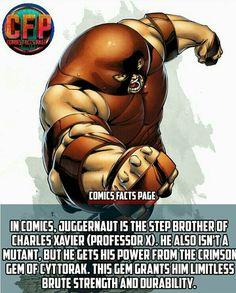 #Juggernaut #ProfessorX #XMen #MarvelComics #Marvel #Comics