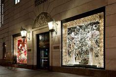 Fifth Avenue at Christmas I - Bergdorf Goodman Christmas Windows 2012- http://andrewprokos.com
