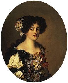 1670s Gabriela Mancini by Jacob Ferdinand Voet