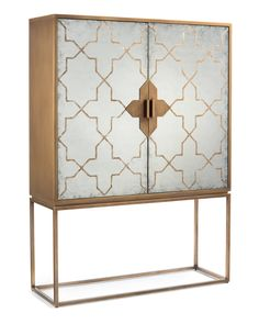"Roma Cabinet - John-Richard - 75""H x 54""W x 19D""  LR b/t windows"