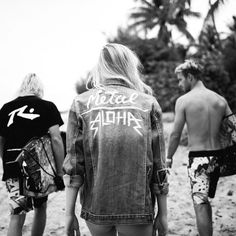 Aloha Friday's got us feeling like… Surf Style, Rock Style, My Style, Summer Of Love, Summer Time, Aloha Friday, Wells, Peace And Love, Surfing