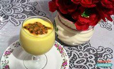 Mousse de maracujá super fácil - 2 ingredientes