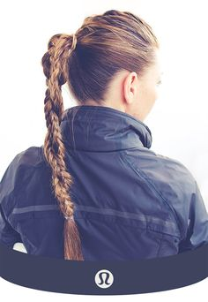 10 Ways To Style Your Hair To Survive a Workout | http://helloglow.co/10-workout-hairstyles/