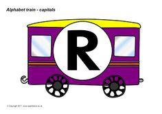 Alfabetos Lindos: Trem