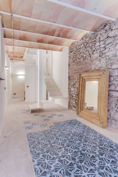 CASA SANT JOSEP   homify Apartment Renovation, Loft House, Exposed Brick, Modern Rustic, My Room, My Dream Home, Beautiful Homes, Home And Garden, House Design
