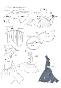 Barbie Sewing Patterns, Doll Dress Patterns, Sewing Dolls, Sewing Clothes, Clothing Patterns, Dress Sewing, Pattern Sewing, Pants Pattern, Shirt Patterns