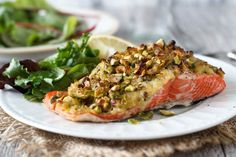 Crusted Salmon- tried and tested - Danielle