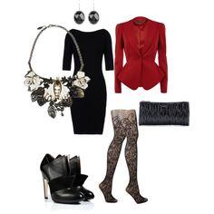 Designer Clothes, Shoes & Bags for Women Office Fashion, Punk Fashion, Gothic Fashion, Vintage Fashion, Goth Look, Goth Style, My Style, Rockabilly, Harajuku