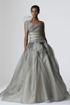 I WANT A GREY WEDDING DRESS