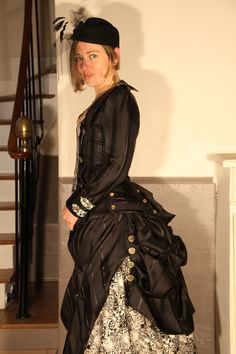 Steampunk Victorian Dress by annesophietoniazzi on Etsy, $1510.00  This is one of those pieces that inspires me to dream of abundant prosperity....