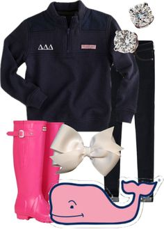 Obviously it would have to be an AOII quarter-zip, but nonetheless, I love this outfit!