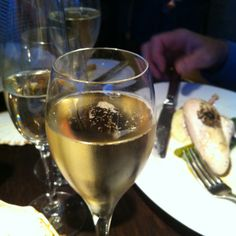 Delightful Champagne at the Jetty