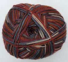 Hot Socks Stripes 4-fach superwash - Young fashion stripes 1661-619, 75% Merino superwash by ColorfullmadeShop on Etsy