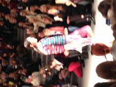 Opening look at Mara Hoffman...tons of colors and patterns!