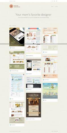 Iris Eda Atalay - Visual Design - Best website, web design inspiration showcase
