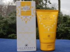 Sun Pure After Sun Creme von Locherber erhält die Bräune. Für eine langanhaltende,  gleichmäßige und sichere Sonnenbräune. Enthält Derivate aus Reis, Granatapfel und Malve.