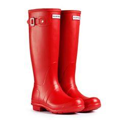 Mens Hunter Original Tall Wellies Winter Festival Rain Waterproof Boots – Go Shop Shoes Womens Hunter Boots, Wellies Boots, Hunter Rain Boots, Red Boots, Tall Boots, High Boots, Jimmy Choo, Hunter Wellington Boots, Men Boots