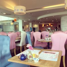 Most department stores these days have a cafe or a restaurant. They're usually not much to look at, but the Tea Terrace at House of Fraser in Guildford is a little different. It's like …