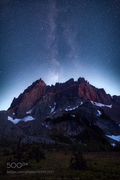 Image result for corona of stars abovea mountain peak Pinterest