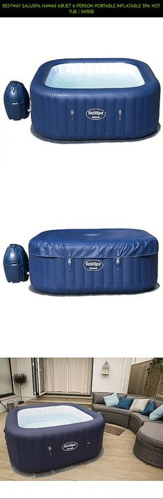 Bestway SaluSpa Hawaii AirJet 6-Person Portable Inflatable Spa Hot Tub | 54155E #hot #person #camera #tubs #gadgets #tech #products #plans #racing #kit #fpv #6 #drone #parts #shopping #technology