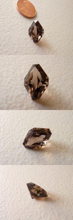 Smoky Quartz 69148: Colorado Smoky Quartz Gemstone 7.24 Carat Faceted (Untreated) 100% BUY IT NOW ONLY: $201.0