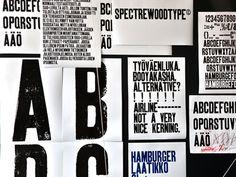 branding with letterpress.