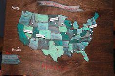 "ewe hooo!: Our Family Travels — U.S. Map Peg Board ""How to"""