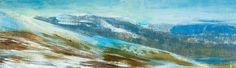 'Above Loch Ericht, February'