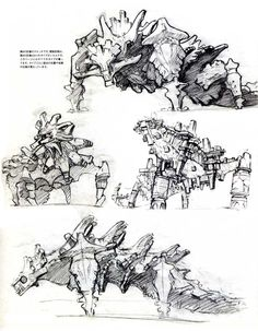 Shadow of the Colossus Concept Art