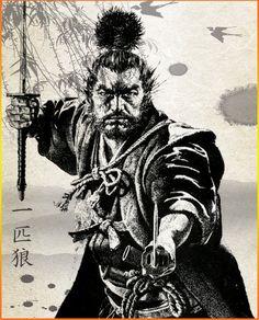 Musashi Miyamoto (1584-1645) was Japan's Greatest Swordsman and Samurai.