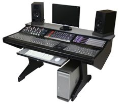 Same studio desk with add your own Euphonix system and hardware