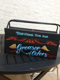 Tool box paint