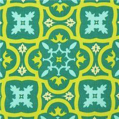Michael Miller fabric Moorish Tile ornament Patty Young